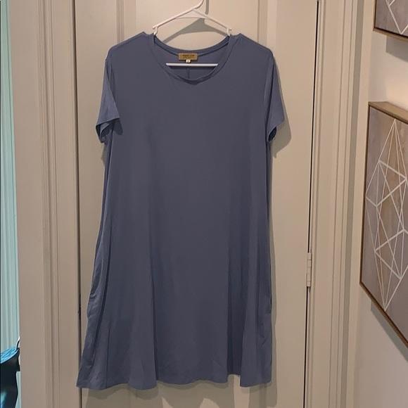Piko 1988 Dresses & Skirts - NWOT Pinko 1988 blue dress size Medium